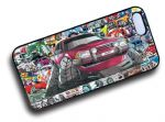 Koolart STICKERBOMB STYLE Design For Old Skool Mk2 Ford Granada Hard Case Cover Fits Apple iPhone 4 & 4s